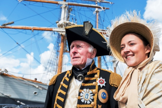 Lord Nelson and Lady Hamilton