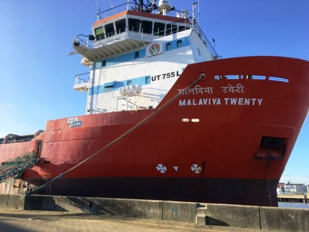 Network Yarmouth : Stranded crew to return home following ship sale